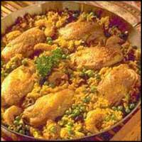 الأرز الدجاج الزعفران ChickenSaffronRice.j