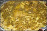 وصفات افريقية بالصور،اكلات افريقية شهيه،اطباق افريقيه ،اشهر الاكلات الافريقية بالصور rafeesaChicken.jpg